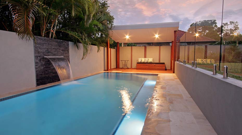 Windsor residence brisbane landscaping and outdoor for Pool design brisbane