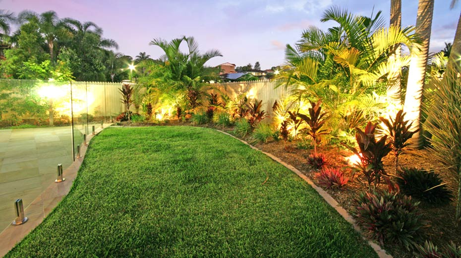 Mcdowell residence brisbane landscaping and outdoor for Landscape design brisbane